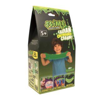 Набор малый для мальчиков Лаборатория ТМ Slime, зеленый, 100 гр.