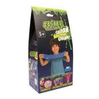 Набор малый для мальчиков Лаборатория ТМ Slime, синий, 100 гр.