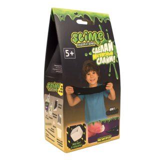 Набор малый для мальчиков Лаборатория ТМ Slime, черный магнитный, 100 гр.