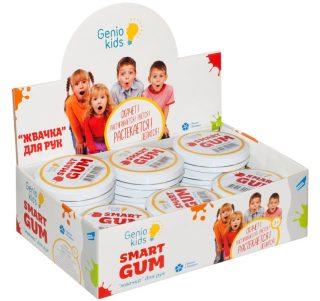 Пластилин для детской лепки SMART GUM цвет в асс-те