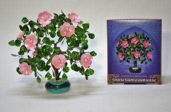 Набор для тв-ва Плетение из пайеток и бисера Майская роза