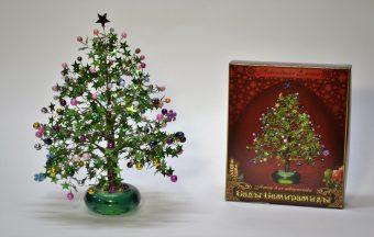 Набор для тв-ва Плетение из пайеток и бисера Новогодняя елочка