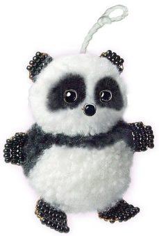 Набор для тв-ва Фигурка из бисера Маленькая панда