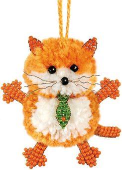 Набор для тв-ва Фигурка из бисера Маленький кот