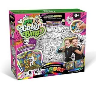 Набор креативного тв-ва  My Color Bag сумка-раскраска Пони