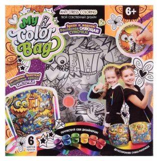 Набор креативного тв-ва  My Color Bag сумка-раскраска Сова