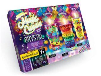 Набор креативного тв-ва Magic Candle Свечи своми руками с кристаллами
