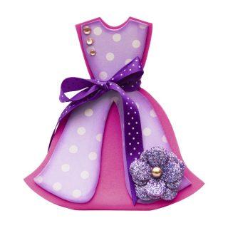 Набор для творчества подарочная коробочка Платье