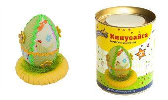 Набор для тв-ва Кинусайга 3D Декоративное яйцо в асс-те