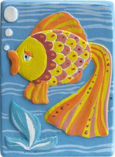 Барельеф Рыбка