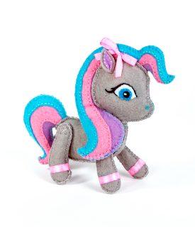 Набор для изготовления текст. игрушки Пони