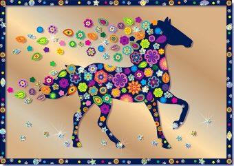 Набор для изг-ния картины Конь