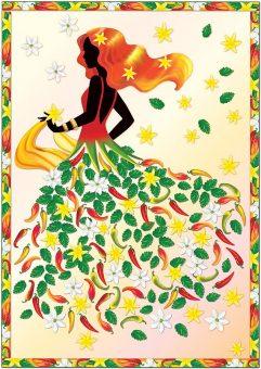 Набор для изг-ния картины Леди Чили