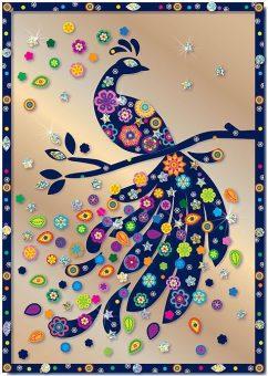 Набор для изг-ния картины Райская птица