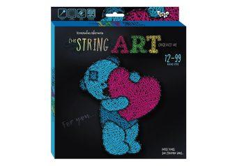 Набор креативного тв-ва STRING ART Мишка