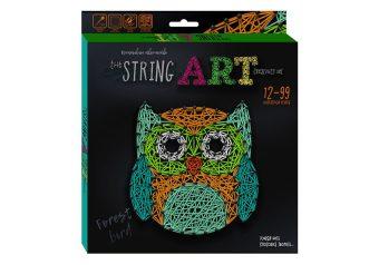 Набор креативного тв-ва STRING ART Сова