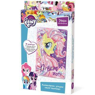 Набор для тв-ва Алмазные узоры My Little Pony Мир мечты, 10х15 см