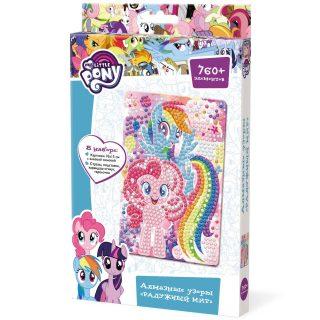 Набор для тв-ва Алмазные узоры My Little Pony Радужный мир, 10х15 см