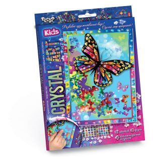 Набор креативного тв-ва Crystal Art Бабочки