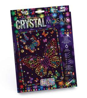 Набор креативного тв-ва Crystal Mosaic Бабочки