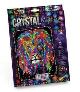 Набор креативного тв-ва Crystal Mosaic Лев