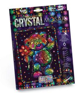Набор креативного тв-ва Crystal Mosaic Мишка