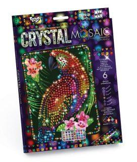 Набор креативного тв-ва Crystal Mosaic Попугай