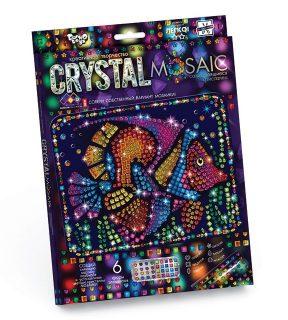 Набор креативного тв-ва Crystal Mosaic Рыбка