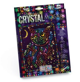 Набор креативного тв-ва Crystal Mosaic Сова