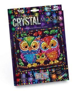 Набор креативного тв-ва Crystal Mosaic Совы