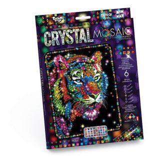 Набор креативного тв-ва Crystal Mosaic Тигр