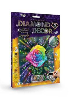 Набор креативного тв-ва Diamond Роза