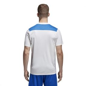Игровая футболка adidas Regista 18 бело-синяя