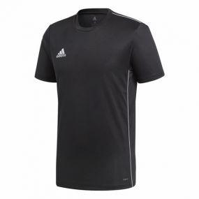Спортивная футболка для тренировок adidas Core 18 чёрная