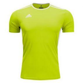 Игровая футболка adidas Entrada 18 ярко-жёлтая
