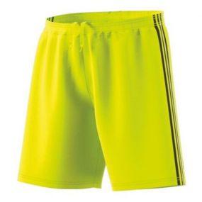 Игровые шорты adidas Condivo 18 жёлтые