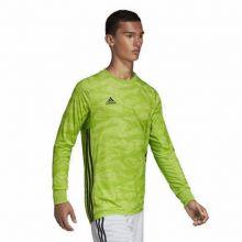 Детский вратарский свитер adidas AdiPro 18 c длинным рукавом зелёный