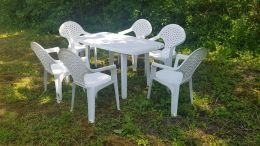 Набор пластиковой садовой мебели Верона
