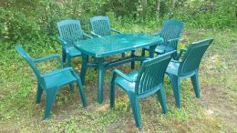 Набор пластиковой мебели Садовый