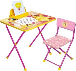 Набор мебели Disney 4-Белль (стол+пен+стул мягк)