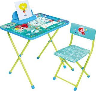 Набор мебели Disney 4-Русалочка (стол+пен+стул мягк)