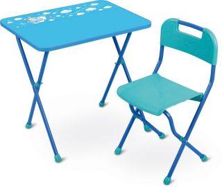 Набор мебели голубой