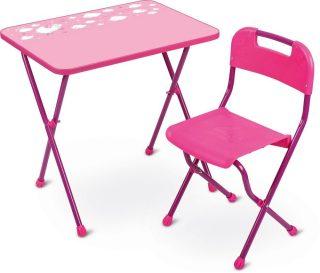 Набор мебели розовый