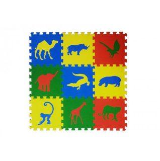 Мягкий пол универсальный Сафари 9 дет (1 дет - 33*33 см), в асс-те