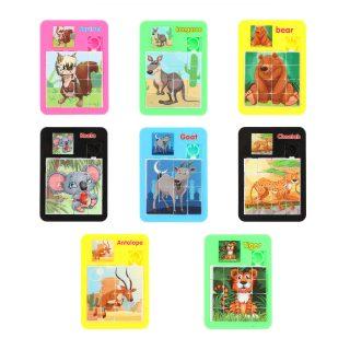 Логическая игра Мир животных 5*7 см, в ассорт., пакет