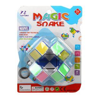 Змейка логич., 24 звена, разноцветная, блистер.