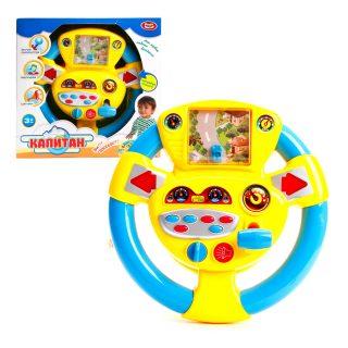 Игра эл. Мой первый автомобиль, звуки, мелодии, элементы питания AA*3 шт. не входят в комплект