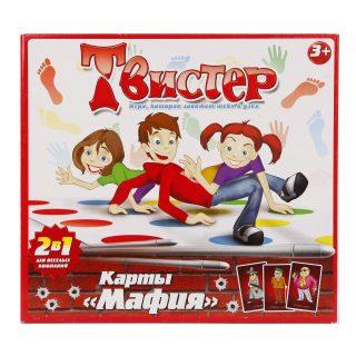 Игра Твистер+карты Мафия