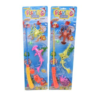 Игровой набор Рыбалка магн., 1 удочка + 3 фигурки, блистер