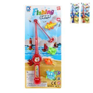 Игровой набор Рыбалка, удочка+4 фигурки, в ассорт., блистер